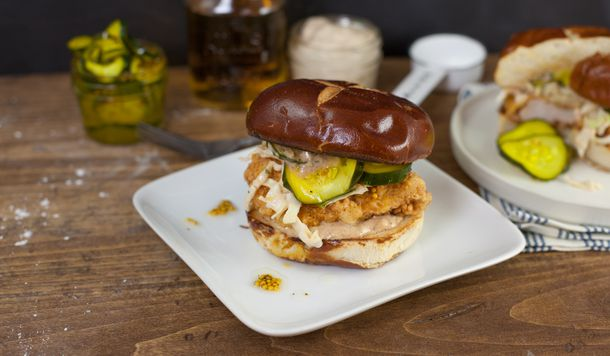 Fried Chicken Sammie